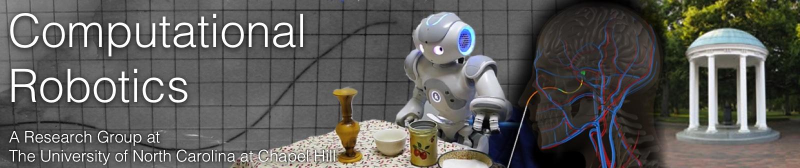 Computational Robotics Group at UNC-Chapel Hill
